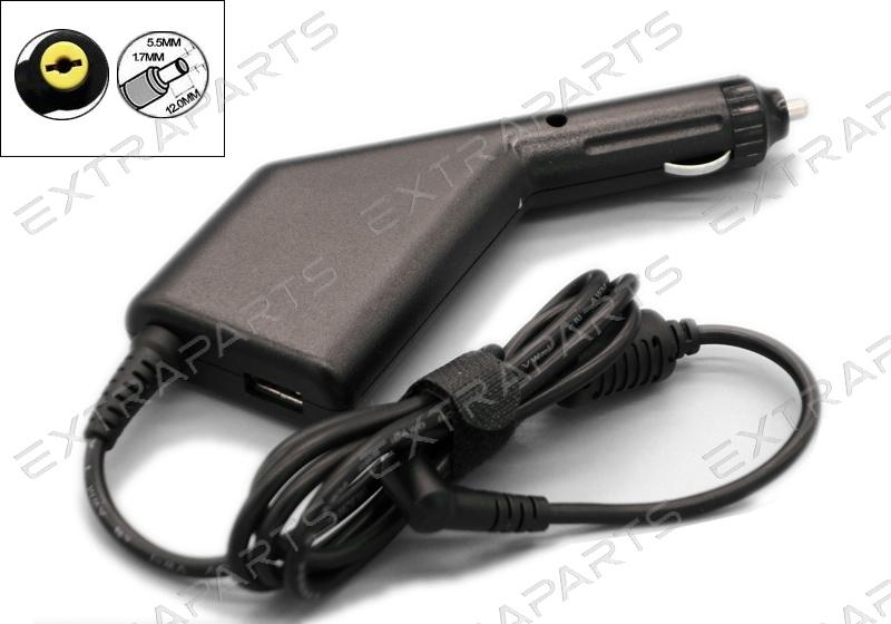 Автомобильная зарядка для ноутбука