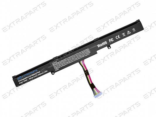 Аккумулятор с корейскими ячейками ASUS X751LD (2600 mAh) - купить в ExtraParts.ru