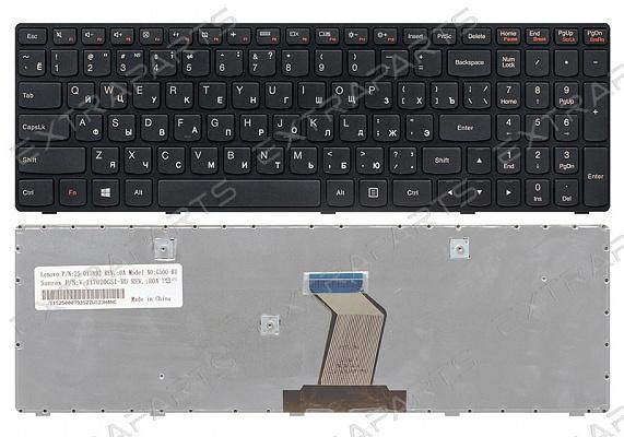 Клавиатура для ноутбука Lenovo G500  (RU) черная : Клавиатуры для ноутбуков LENOVO IBM : ExtraParts.Ru - комплектующие, запчасти для ноутбуков и мобильных устройств.